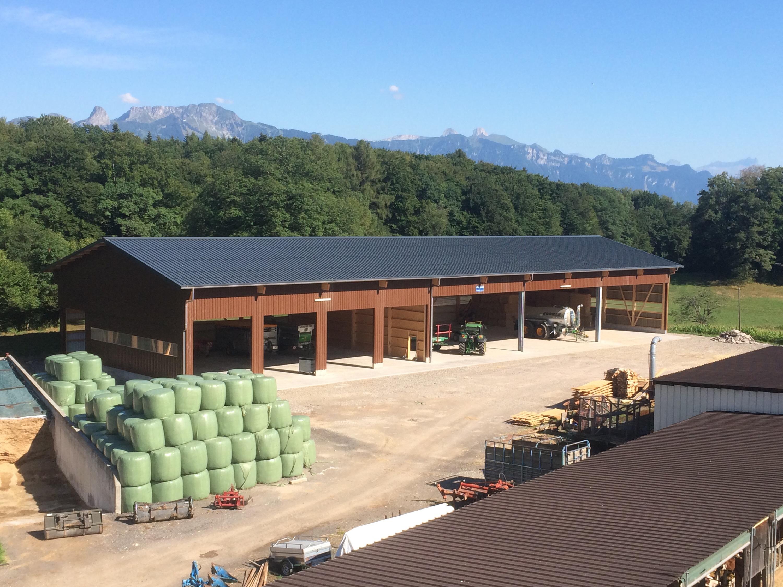 Le nouveau hangar